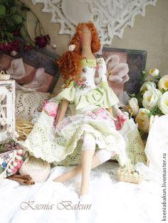 """Куклы Тильды ручной работы. Ярмарка Мастеров - ручная работа Кукла Тильда """"Нежное настроение"""". Handmade."""