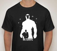 Mr. Terrific Silhouette T-Shirt by DJsDecals on Etsy