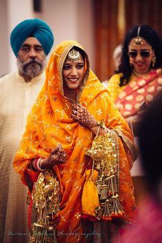 Harleen & Karamjot Wedding Photo - via WedMeGood