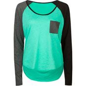 Women's Long Sleeve Tees & Thermals: Scoop Long Sleeves Tees, Stripe Long Sleeves Tees, Women's Thermal Shirts, Graphic Long Sleeve Tees - Tillys.com
