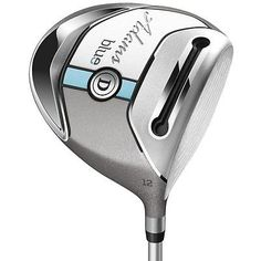 Ladies Adams Golf Clubs Blue 12 Driver Aldila SlimTech 45 Right Hand Very Good