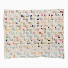 String Quilt – Bars of Lighting   Mingei