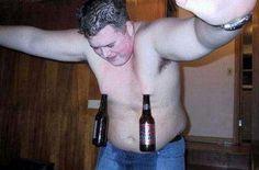 Nipple Beers Cool trick, sad guy.