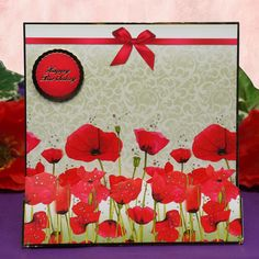 Poppy Meadow Page 1 | Hunkydory Crafts