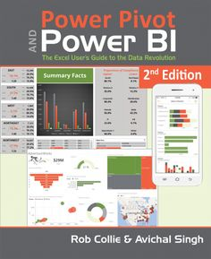 Full-color guide to Power Pivot, Power BI, and Power Query