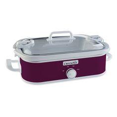 Crock-Pot® Casserole Crock™ Slow Cooker, Cranberry #getcrocked