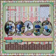 Searching for Eggs - Scrapbook.com