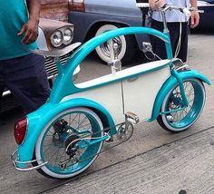 #vw #bike #bug #beetle #volkswagen #bicicleta #bicicle #bici #love #peace #classic