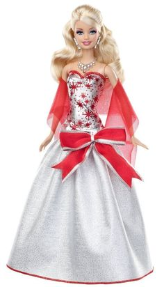 2007 Holiday Barbie Doll | barbie collection collector 2012 holiday doll