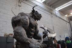 Minotaurus / Mythology / Sculpture / Scrap Metal / Minotaur /