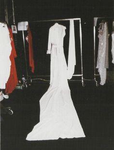 #backstage at Maison Martin Margiela SS 2006