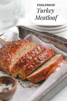 turkey meatloaf healthy & turkey meatloaf - turkey meatloaf recipe - turkey meatloaf healthy - turkey meatloaf muffins - turkey meatloaf recipe easy - turkey meatloaf recipe healthy - turkey meatloaf instant pot - turkey meatloaf with stuffing Healthy Meatloaf, Meatloaf Recipes, Pork Recipes, Gourmet Recipes, Cooking Recipes, Healthy Recipes, Pork Meatloaf, Meatloaf Muffins, Kitchens