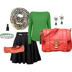 """""""Jolly Green"""" by k-g-benfield on Polyvore"""