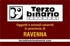 Oggetti e animali smarriti in provincia di Ravenna