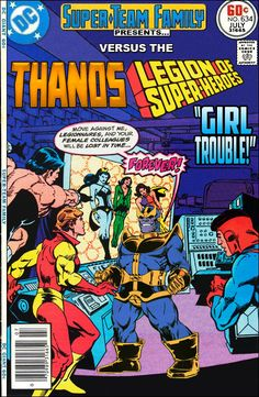Super-Team Family: The Lost Issues!: Thanos Vs. the Legion of Super-Heroes