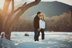 Jessica & AJ's Westcliffe Winter Engagement gillphotos.com