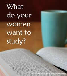 What do your women want to study? Find out with this free printable Bible Study Interest Survey at Women's Ministry Toolbox.