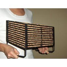 Wood Pellet Basket, Burn Wood Pellets in Your Wood Stove.  Yes, please.