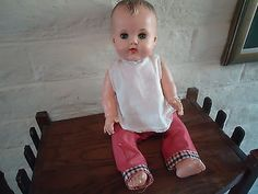 """Sun Rubber """"Constance Bannister"""" Doll-Great Squeeker! (11/11/2013)"""