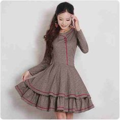 vintage dolly dress