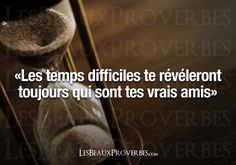 Les Beaux Proverbes – Proverbes, citations et pensées positives » » Les vrais amis Plus Belle Citation, French Expressions, Quote Citation, Some Words, Will Smith, Friendship Quotes, Believe In You, Sentences, Best Quotes