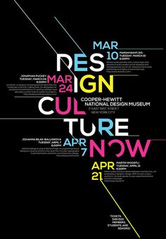 Design Culture Now Poster on Behance: