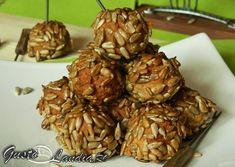 Chiftele la cuptor Almond, Food, Recipes, Meals, Yemek, Almonds, Eten