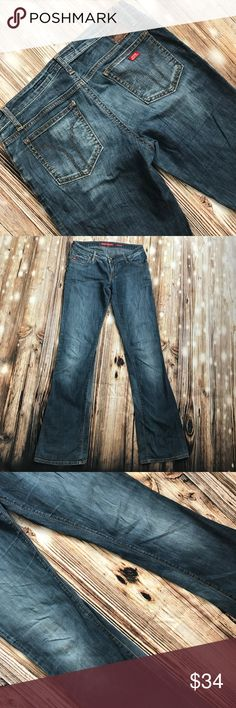 """Miss Sixty extra low TV 29/33"""" In used shape still lots of life left in these Miss Sixty Jeans"""