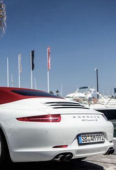Porsche 911 Carrera S... red is my next convertible Porsche 911 top!