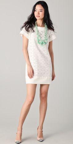 amazing white dress.