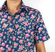 ... Estampada - Loja Online Camisas Estampadas - Blusas Estampadas -  Vintage Shirt - Camisas Essenciais para o Verão - Camisa Tropical - Camisa  Havaiana 102d7fd724e9c