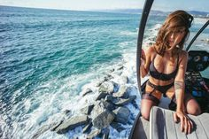Tianna Gregory : rotor session sea view