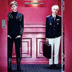 150615 '쩔어/ Sick' Concept Photos - The height difference  - #bangtanboys #jin #suga #Jhope #Rapmonster #Jimin #V #Jungkook #INEEDU #방탄소년단 ©bighit