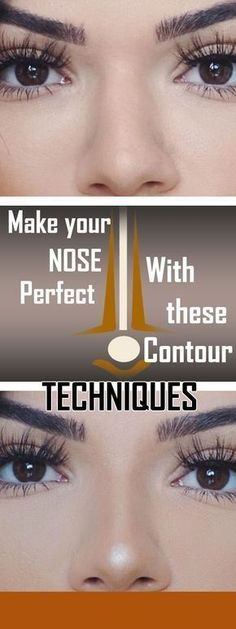 MAKE YOUR NOSE PERFECT WITH THESE CONTOUR TECHNIQUES
