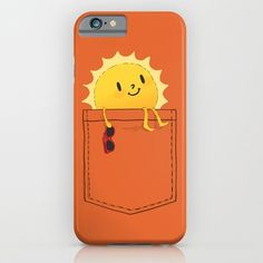 iPhone 6 Cases featuring Pocketful of sunshine by Budi Kwan