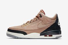 Amerykański Jordan Brand poszerza swoją ofertę w modelu Air Jordan 3 o kolejne wydanie JTH, które teraz pojawi się w kolorystyce Bio Beige.