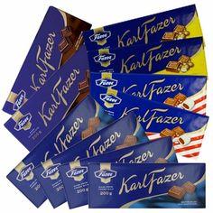 Fazer Chocolate Bar Gift Pack - Fazer #pintofinn