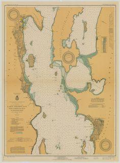 Lake Champlain Depth Chart