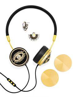 FRENDS x BaubleBar Fortuna Layla Headphones Set-Black