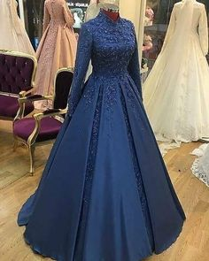 Book ur dress now Completely stitched outfits in all colours like ✔ comment✔ share✔ tags✔ For booking ur dress plz dm or whatsapp at Prom Dresses Long With Sleeves, Blue Wedding Dresses, Ball Dresses, Ball Gowns, Evening Dresses, Dress Wedding, Most Beautiful Dresses, Pretty Dresses, Muslimah Wedding Dress
