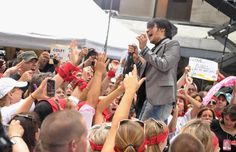 Arnel Pineda Photos Photos - Singer Arnel Pineda of the band Journey performs at the 2011 Today Summer Concert series at Rockefeller Plaza on July 29, 2011 in New York City. - Journey Performs At The 2011 Today Summer Concert Series