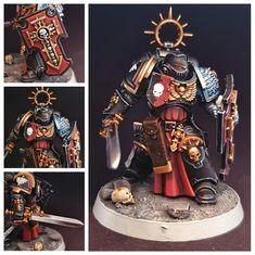 Warhammer Deathwatch, Warhammer Armies, 40k Armies, Warhammer 40000, Warhammer Paint, Warhammer Models, Warhammer 40k Miniatures, The Grim, Mini Paintings