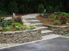 Flagstone Garden Wall Gdiva.com. retaining wall