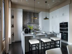 I think I would cry for 10 solid years if I won something like this! Tears of joy, of course!! ♥ - Kitchen Pictures From HGTV Urban Oasis 2014 on HGTV
