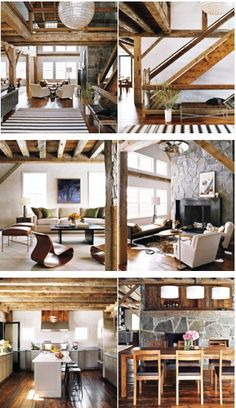 Barn House.  Love the color and with the white trim it does not seem over done