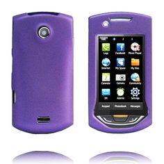 Hard Shell Snap-On (Lilla) Samsung S5620 Monte Deksel