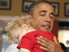 My president...children always know your heart....we all need a president that we can lean on.....