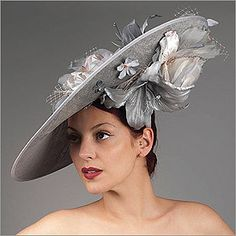 • Vivien Sheriff is a renowned designer from England. Her hats have fitted the heads of British royals and are now available to you through HATagories.