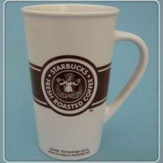 Vintage Starbucks Pike Place Market coffee to-go mug