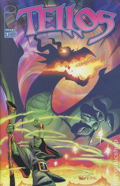 Tellos (1999 Image) 7 Image Comics book covers Modern Age